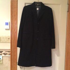 JCrew size 2 women's long tailored peacoat